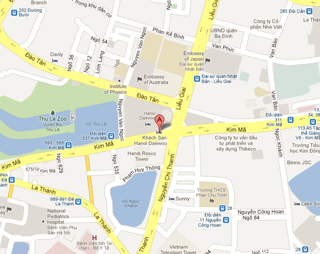 Hanoi-Daewoo-Hotel-location