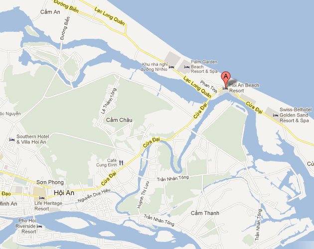 Hoian-Beach-Resort-Location