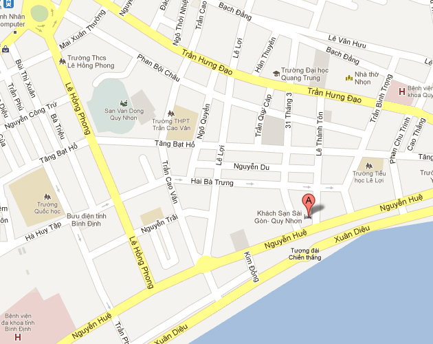Saigon-Quy-Nhon-Hotel-Location