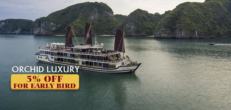 Orchid Luxury CruiseOff 5% for Booking book 60 days prior service date Detail