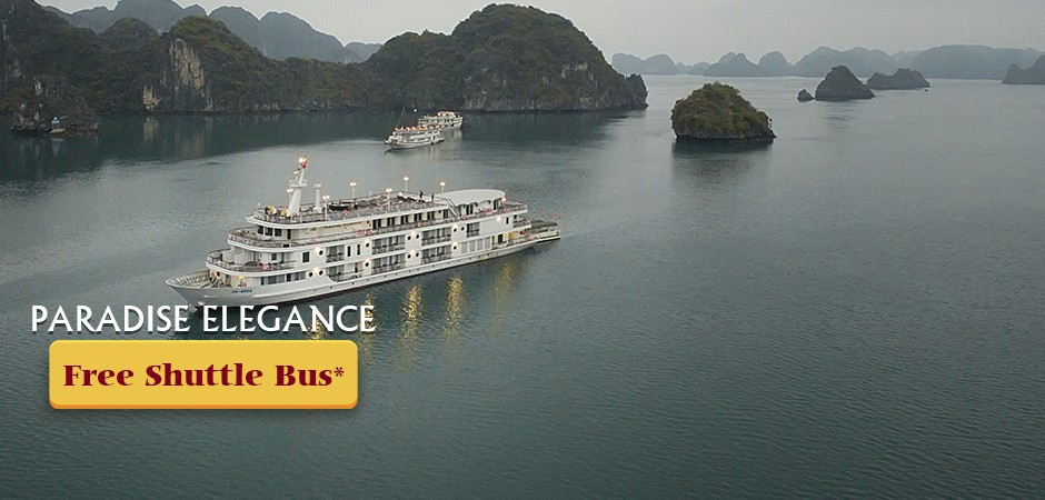 Paradise Elegance CruiseFree Shuttle Bus for round trip for all booking run in 2019 Detail